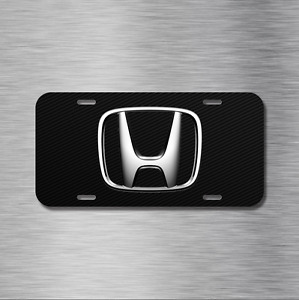 Honda Vehicle License Plate Front Auto Tag Crz Pilot Civic Accord Crv Fit S2000