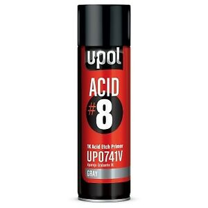 U Pol Products Acid 8 1k Etch Primer Upl Up0741 Gray Acidic Primer