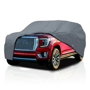Cct 4 Layer Semi Custom Fit Full Suv Car Cover For Chevy Tahoe 1992 2021