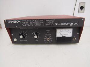 Branson W 200p Sonifier Cell Disruptor 1 Year Warranty
