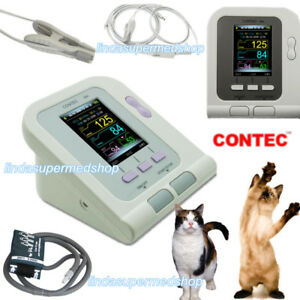 Digital Blood Pressure Monitor veterinary animal Nibp tongue Clip Probe Contec
