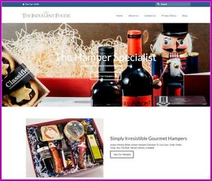 Gourmet Food Hampers Website 136 A Sale free Domain free Hosting free Traffic