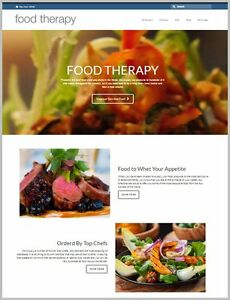 Gourmet Food Website 111 02 A Sale free Domain free Hosting free Traffic