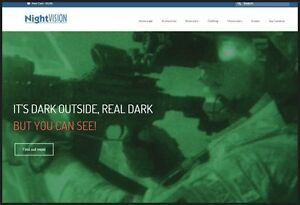 Night Vision Goggles Website Business Make 61 51 A Sale Instant Traffic System