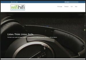 Hi fi And Audio Website Business Make 47 99 A Sale Instant Traffic System