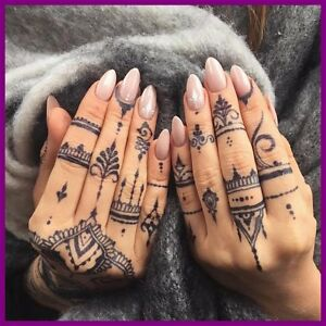 Fully Stocked Henna Tattoos Website Business free Domain hosting traffic