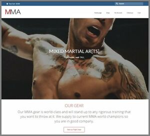 Mma ufc Gear Website upto 402 09 A Sale free Domain free Hosting free Traffic