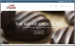 Yummy Chocolate Website Upto 27 50 A Sale free Domain free Hosting free Traffic