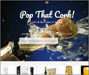 Real Champagne Website Earn 319 00 A Sale free Domain free Hosting free Traffic