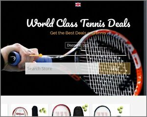 Tennis Gear Website Business Make 402 00 A Sale Instant Traffic System