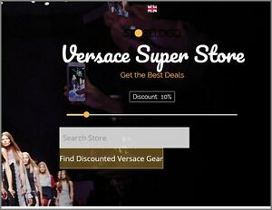 Gianni Versace Website upto 146 A Sale free Domain free Hosting free Traffic