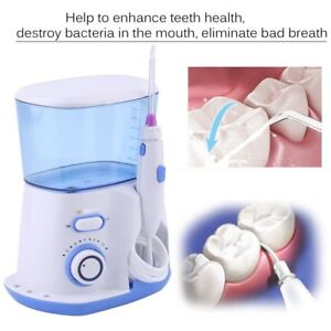 Electric Water Jet Pick Flosser Oral Irrigator Teeth Cleaning Spa Dental Care Ek