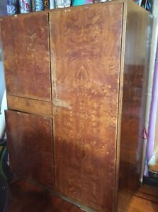 Antique Art Deco Wardrobe Circa 1930s Price Reduced Local Pick Up Only