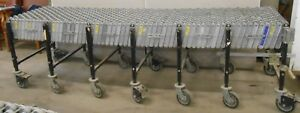 Best Flex Portable 8 6 To 20 Expandable Skate Wheel Roller Conveyor