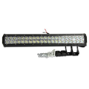 126w Super Bright Off Road 42 Led Spot Flood Light Bar Work Atv Truck Lamp Local