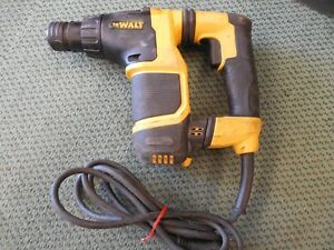 Dewalt D25052 3 4 Sds Plus Sub compact Rotary Hammer Drill Tested Sds