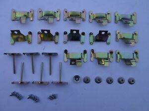 Chevrolet Impala Bel Air Biscayne Windshield Clip Kit 1959 1960 Sedan Wagon
