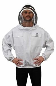 Humble Bee 511 s Polycotton Beekeeping Smock With Fencing Veil medium