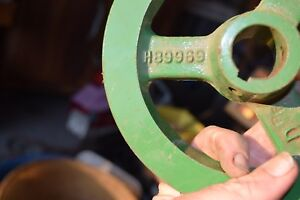 John Deere Pulley H89989 New Old Stock
