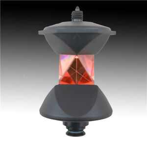 New 360 Degree Reflective Prism For Robotic Total Station Leica Style Or 5 8