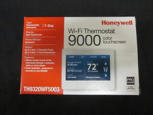Honeywell Wifi 9000 Color Touchscreen 3h 2c Thermostat Th9320wf5003