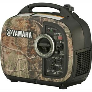 Camo Portable Inverter Generator 2000 Watt Gas 120v Carb 10 5 Hour Run