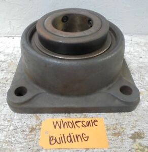 Rexnord Link belt 4 bolt Flange Bearing Unit Fu355 3 7 16 Bore 11 Length