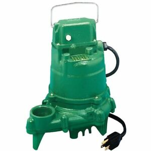 Zoeller N57 1 3 Hp All Cast Iron Submersible Sump Pump non automatic