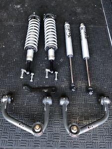 Fox 2 0 Coilovers Rear Shocks W Camburg Uca S Upper Control Arms