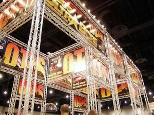 Trade Show Booth Trade Show Display Aluminum Space Truss 20x20 20x50 Adapts