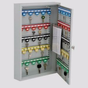 Wall Mountable Office Rental Building Work Site 100 Keys Storage System Safe