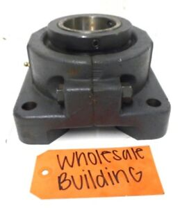 Sealmaster 4 bolt Flange Bearing Unit Rfb 207 2 7 16 Bore 2 piece Housing