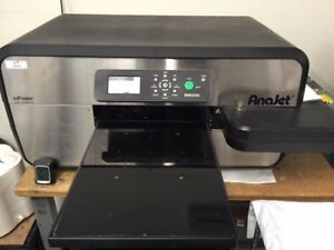 Anajet Mpower Mp10i Direct To Garment Printer With Heat Press