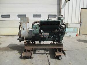 Used 40kw Lister Petter Genset 305hr6a31 99