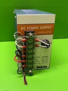 Tokin Dc Power Supply Unregulated Type No Ust 4804 100v Ac Input 48v Output