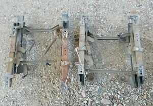 Oem Ford Pair 92 97 Ford Truck 92 96 Bronco Bucket Seat Tracks