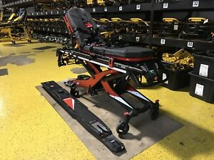 Ferno Inx Stat Track Power Cot Ambulance Stretcher Electric Stryker Free Ship