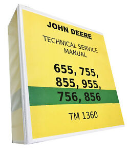 755 John Deere Technical Service Shop Repair Manual