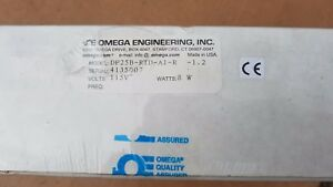 Omega Thermocouple And Rtd Panel Meter Dp25b rtd ai r New In Box