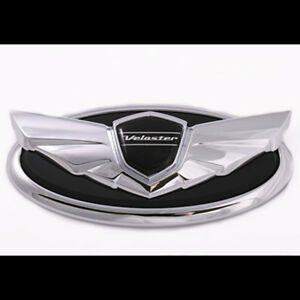 Front Emblem Badge 1pc For Hyundai Veloster Turbo 2012 2014