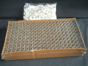 200 Vwr unbranded 7ml Clear Glass Scintillation Vials 15 425 Foil lined Caps