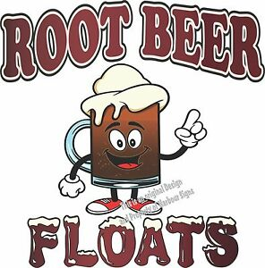 Root Beer Floats Decal 36 Ice Cream Concession Restaurant Catering Food Truck