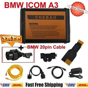 Latest V1 38 Bmw Icom A3 Professional Diagnostic Tool Get Free Bmw 20pin Cable
