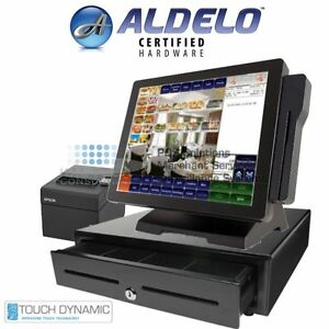 Touch Dynamic I3 Aldelo Pro 2018 Restaurant Bar Pizza Pos all in one Pos New