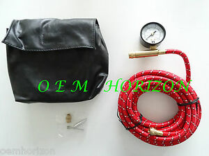 Gm On Board Air Compressor Hose Kit W Attachments Gauge Adaptors New With Case