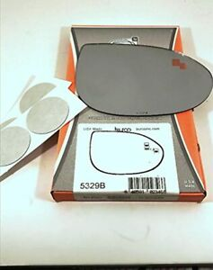Right Pass Convex Mirror Glass Lens W Blindspot Detection Icon For 09 13 Maz 6