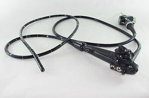 Olympus Pcf q180al Video Colonoscope With Case And Mh 443 Mh 438 Valves