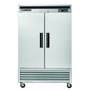 New Maxx Cold Mcf 49fd 2 Double Door Energy Star Upright Commercial Freezer 49cf