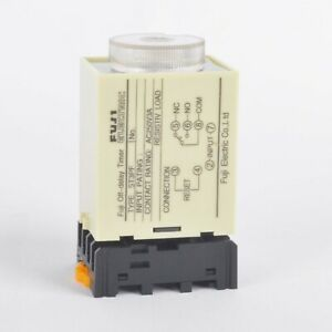 1pcs St3pf 110v Power Off Delay Timer Time Relay 0 10min With Pf083a Socket Base