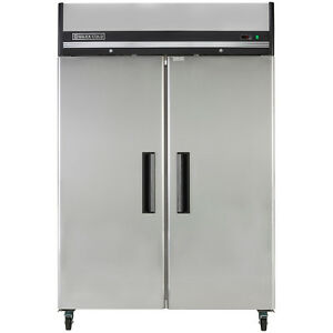 Maxx Cold Mxcf 49fd Double 2 Door Reach in Upright Commercial Nsf Freezer 49cf